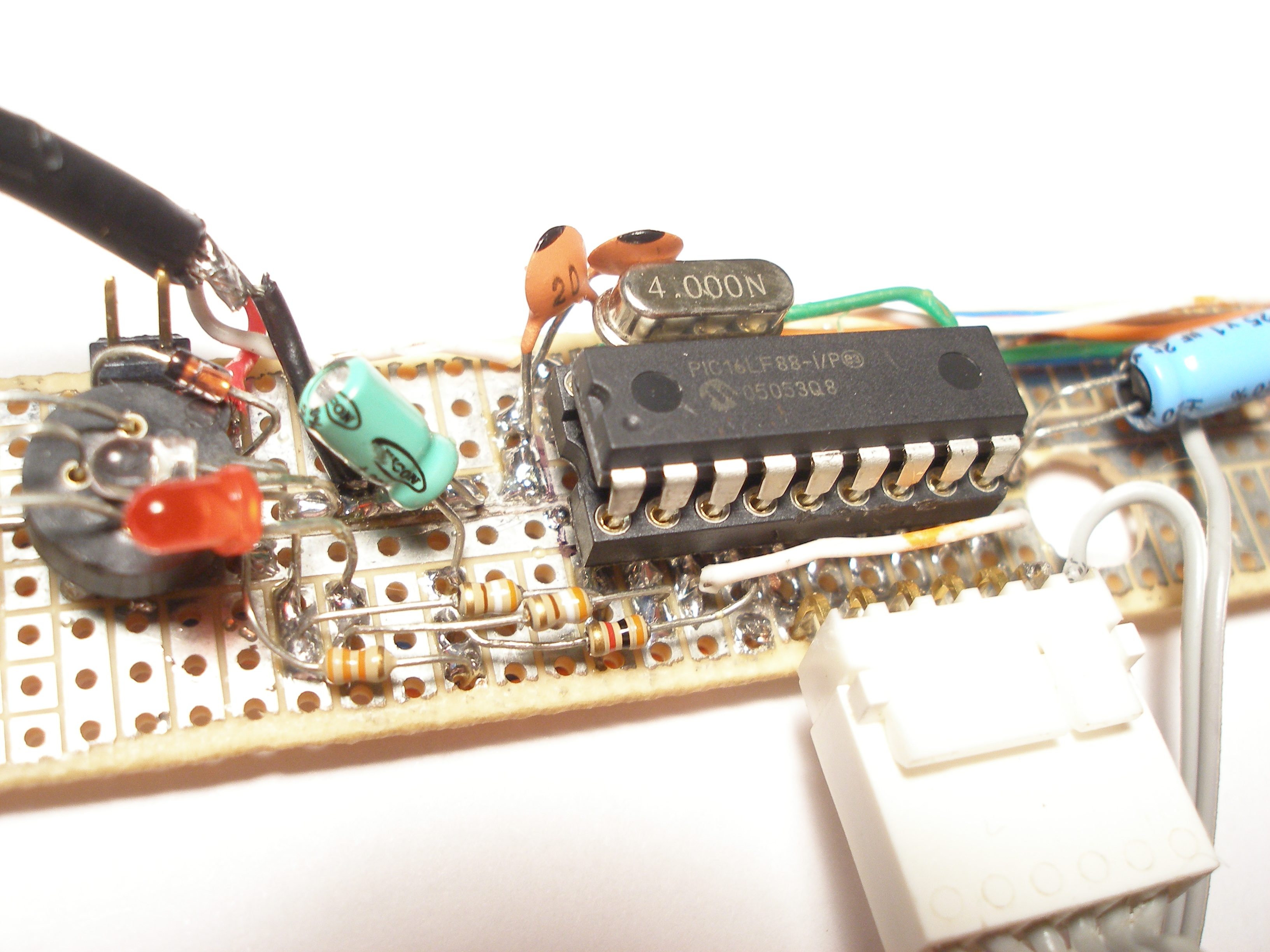 Build Replacement Lanc Circuit Boards For Underwater Video Housing 16f88 Electronics Forum Circuits Projects And Microcontrollers The Design Direction Would Be A With Software Taken From Existing F84 Project Ported To F88 During Port I Have Disable
